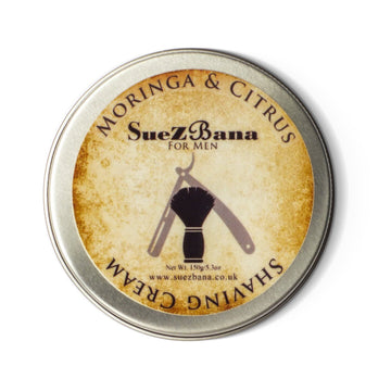 Suezbana Moringa And Citrus Shaving Cream