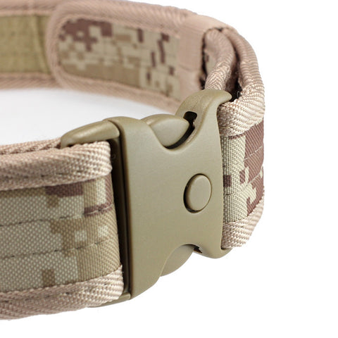 Woodland Camo Tactical Hunting Outdoor Belt [FREE Shipping]