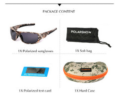 POLARSNOW 2016 New Camouflage Polarized Sunglasses [ON SALE 50% OFF] - Giftz Stop - 5