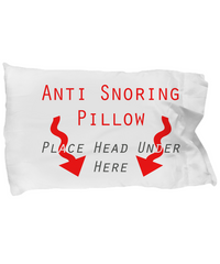 Anti Snoring Pillow - Lol! - Giftz Stop