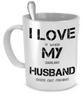 Image of I Love My Husband (When He's Out Fishing) - Giftz Stop - 1