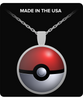 Image of PokeBall Pokemon Go Necklace - Catch 'Em All! - Giftz Stop - 1
