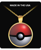 Image of PokeBall Pokemon Go Necklace - Catch 'Em All! - Giftz Stop - 2