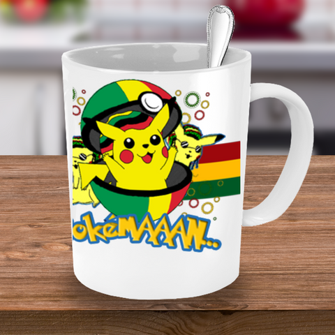 FREE Pokemaaan Mug - Pokemon Go Man! [Just Pay S&H] - Giftz Stop - 1