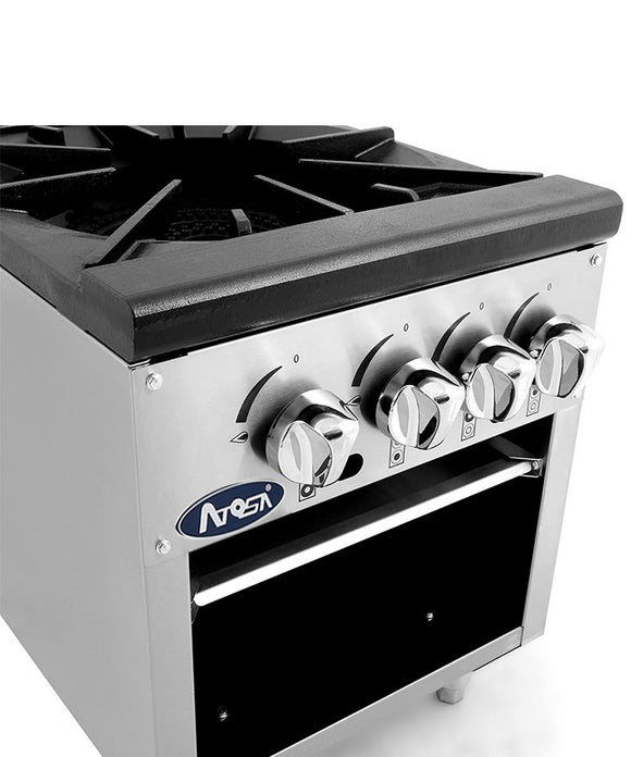 ATSP-18-2 Double Stock Pot Stainless Steel Commercial Kitchen Atosa