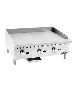 "New ATMG-36 Atosa 36"" Manual Griddle NEW 90,000 BTU Stainless Steel Atosa"