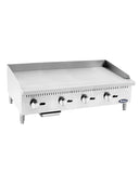 "New ATMG-48 Atosa 48"" Manual Griddle NEW 120,000 BTU Stainless Steel Atosa"
