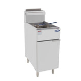 New ATOSA ATFS-50 HD 50lb S/S Commercial Kitchen Natural Gas Deep Fryer