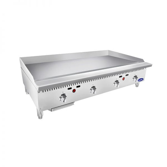 NEW Atosa ATTG-48 – 48″ Thermostatic Griddle Natural or Liquid Propane options