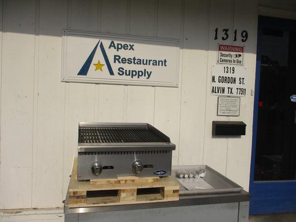 New ATOSA ATRC-24 24″ Radiant Broiler NEW! COMMERCIAL KITCHEN