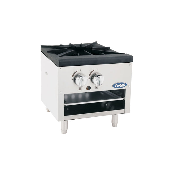 ATSP-18-1L Single Stove Pot Stainless Steel Commercial Kitchen Atosa