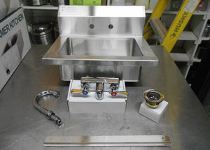 BRAND NEW! MixRite Stainless Steel Hand Sink MRS-HS-18 Atosa