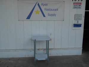 "New ATOSA MRTW‑2424 BRAND NEW 24"" Stainless Steel Work Table w/ Undershelf"