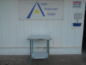 "New ATOSA MRTW‑2430 BRAND NEW 30"" Stainless Steel Work Table w/ Undershelf"