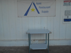 "BRAND NEW Atosa MRTW‑2436 36"" Stainless Steel Work Table with Undershelf"