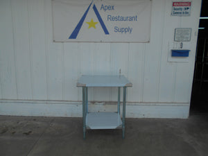 "BRAND NEW Atosa MRTW‑3030 30"" Stainless Steel Work Table w/ Undershelf"