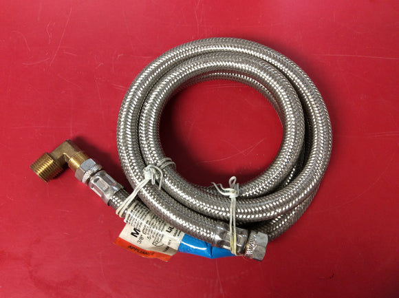#3004 New Lil-Qwick-E 5' Long Braided Stainless Steel Connector Hose