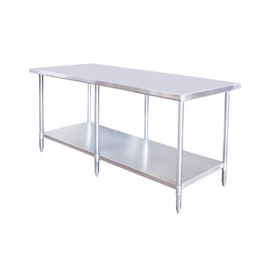 New Atosa SSTW-3096- 96″ Series – 96″ Stainless Work Table