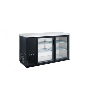 New Dukers DBB48-H2 2-Door Bar and Beverage Cooler (Hinge Doors)