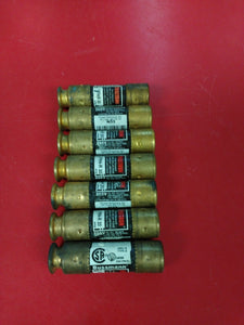 #1136 Lot of 7 Bussmann FRN-R-20 - 20 Amp 250V Fuse