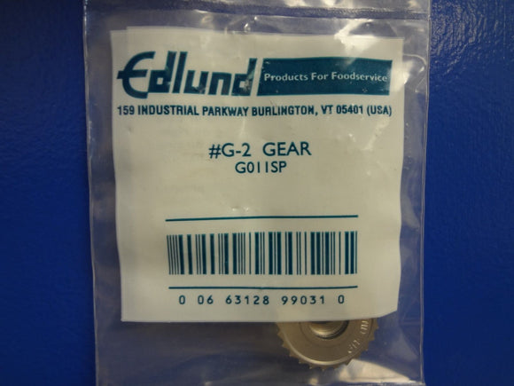 #922 Edlund G011SP Gear, for G2 and SG-2 Manual Can Opener