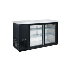 New Dukers  DBB48-S2 2-Door Bar and Beverage Cooler (Sliding Doors)