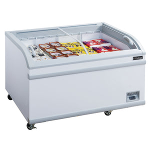 New Dukers WD-700Y Commercial Chest Freezer in White