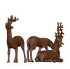 3 piece Christmas Reindeer Set