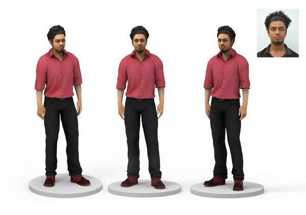 3d figurines from photo
