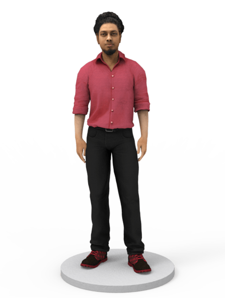 Reseller Digital 3D Selfie Model