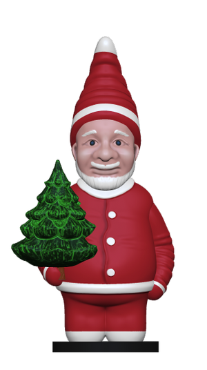 Christmas Elf Santa Claus