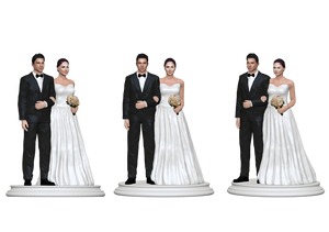 Wedding Cake Topper Figurine