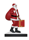 Santa Clause With Briefcase