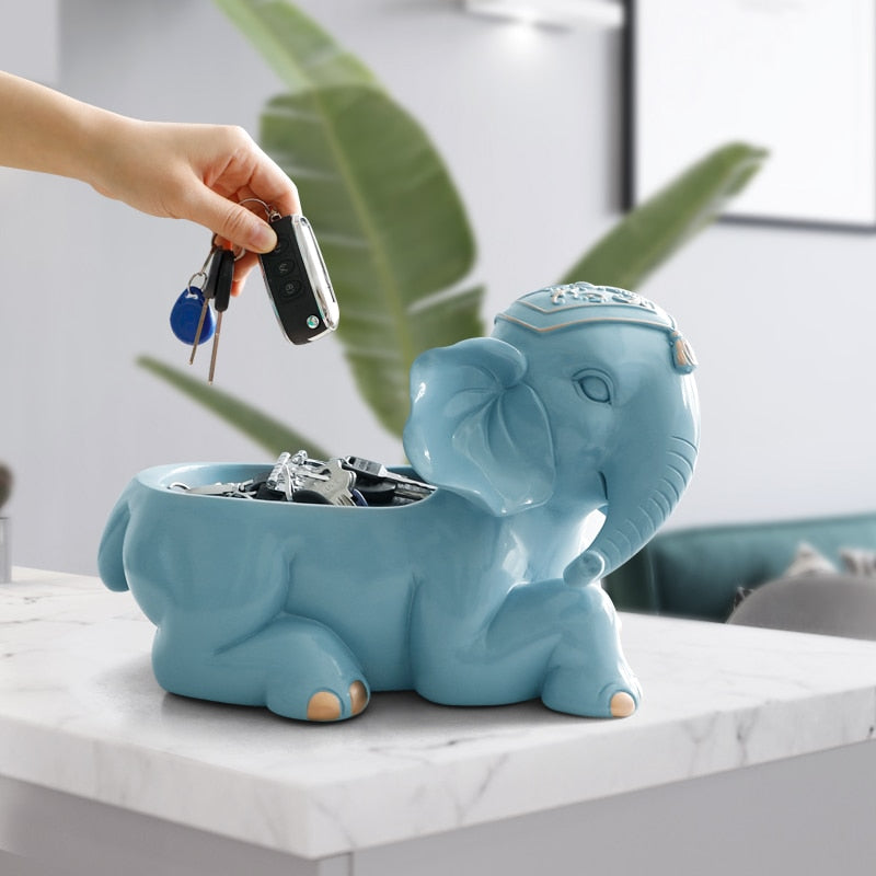 Elephant Figurine Storage