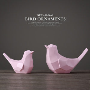 Bird Figurine Couple