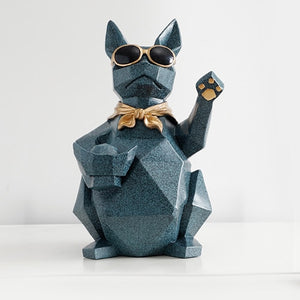 Utility Dog Statue + Decor