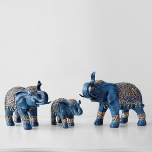 Family Elephant Figurine
