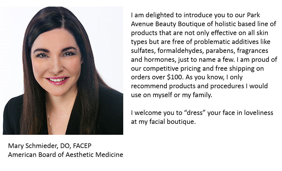 Mary Schmieder, DO, FACEP, American Board of Aesthetic Medicine