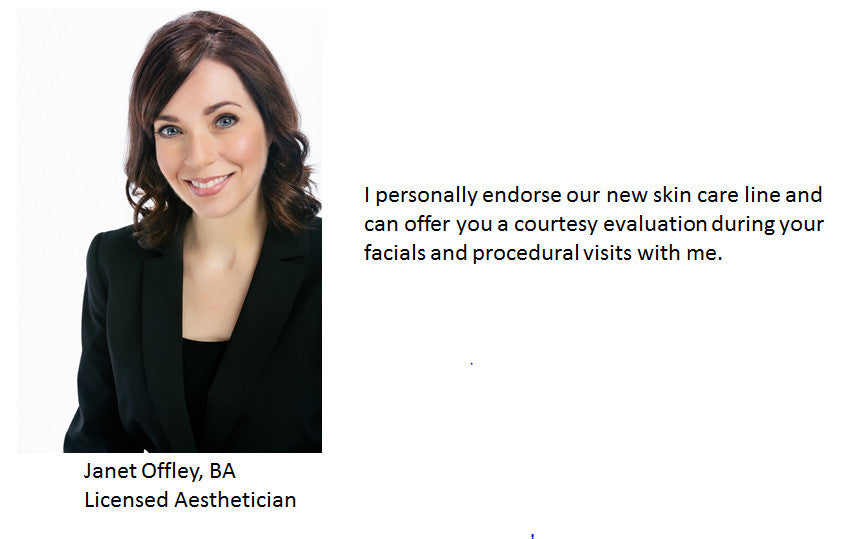 Janet Offley, BA, Licensed Aesthetician