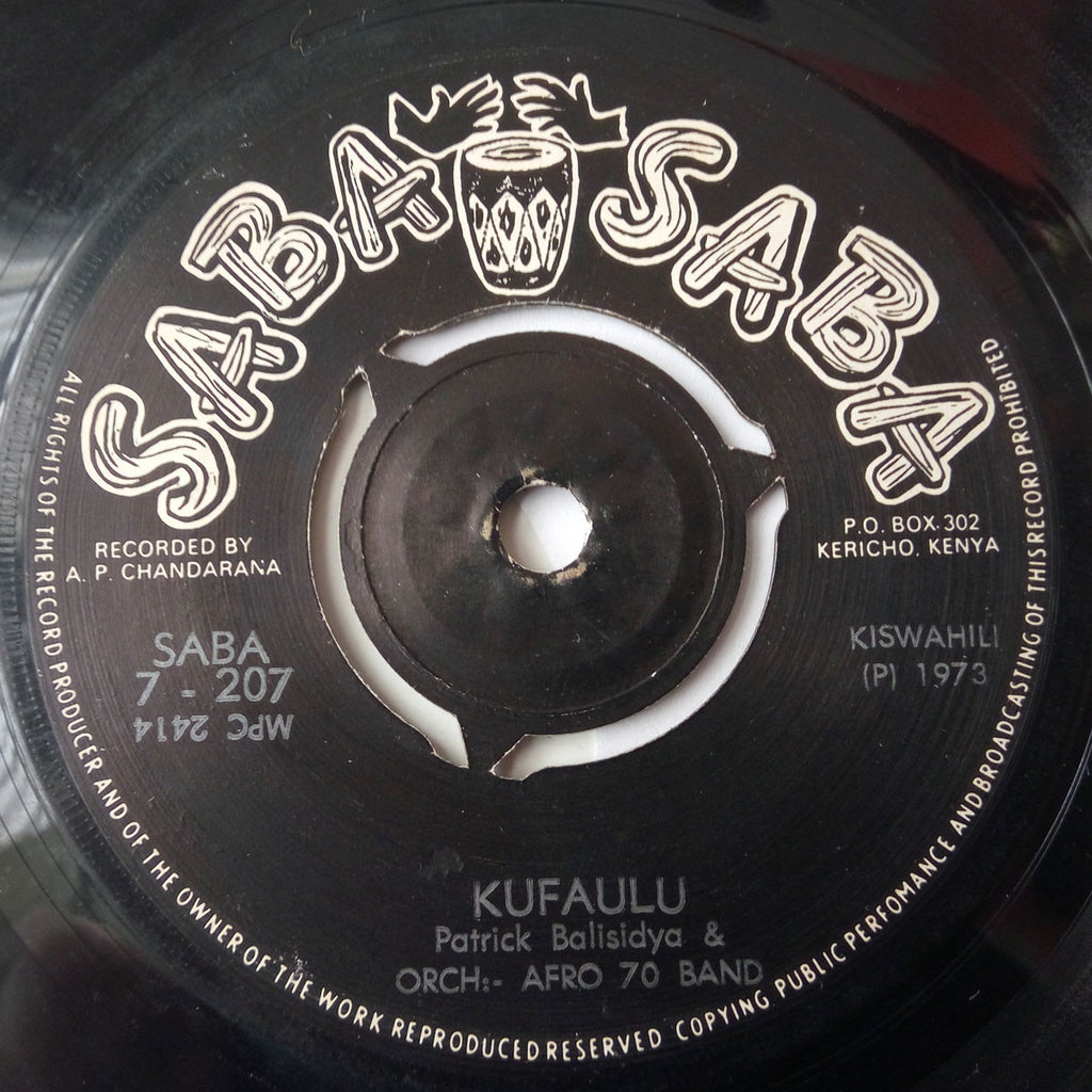 Orch Afro 70 Band - Kufaulu / Safari ya Nairobi
