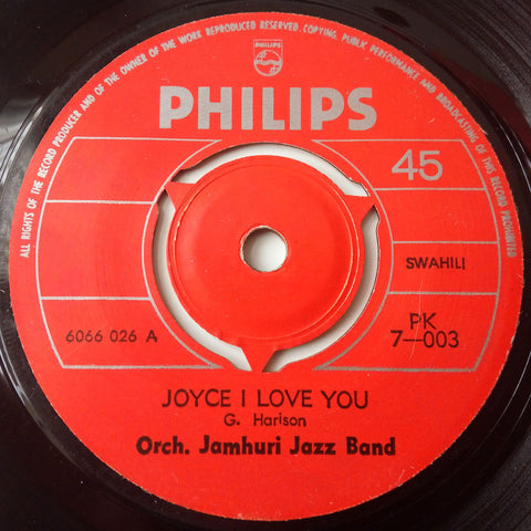 Orch. Jamhuri Jazz Band - Issabela / Joyce I love you