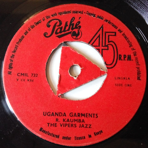 The Vipers Jazz - Uganda garments / Amin Dada no. 1