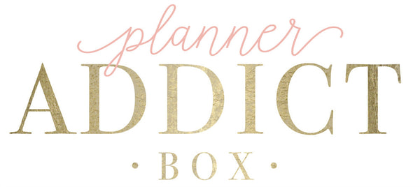Planner Addict Box Shop