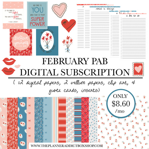 February Digital PAB