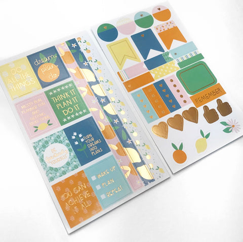 Citrus Sticker Sheets