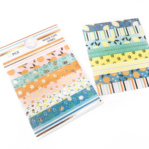 Citrus Washi Tape Strips