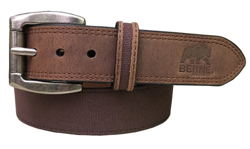 Mens Canvas Crazy Horse Belt