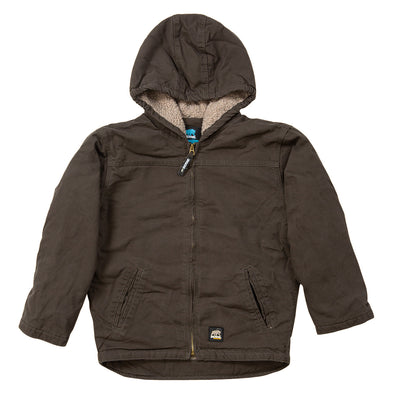 Infant Softstone Hooded Coat (Sherpa)