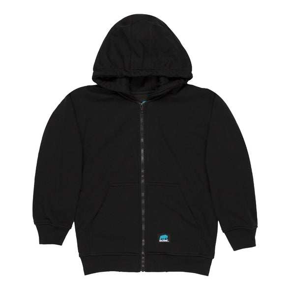 Youth Hooded Sweatshirt - Thermal Lined