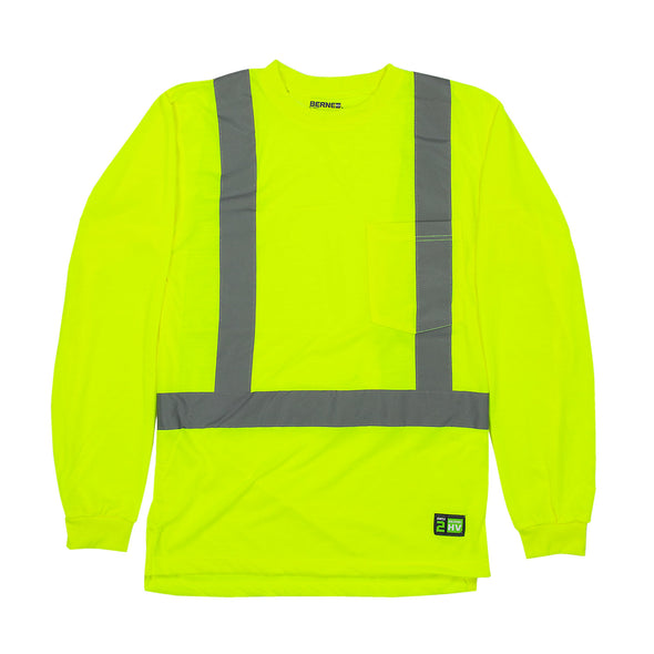 Hi-Vis Type R Class 2 Long Sleeve Pocket Tee